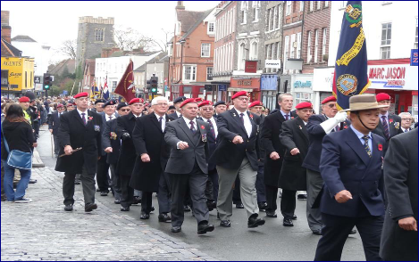 Colchester Remembrance Parade 2016