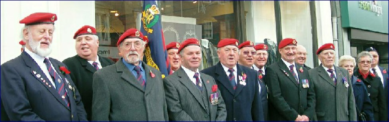 Branch Members at Colchester Remembrance Parade